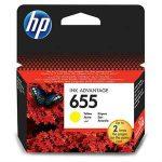 PPH - HP CZ112AE no.655 patron sárga 600o