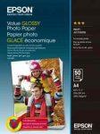 PAP - Fotópapír, A4, Epson Value,  50lap, 183g, fényes, C13S400036