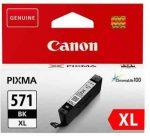PPC - Canon CLI-571XL(BK) patron, fekete, 11ml