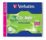 CI - Verbatim CD-RW 700MB 8-12x újraírható cd