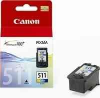 PPC - Canon CL-511 színes MP240, 9ml, 244lap