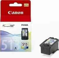 PPC - Canon CL-513 színes MP240, 13ml, 349lap