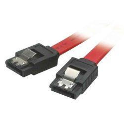 KÁBEL - Serial ATA kábel 3Gb/s, 1.0m, egyenes, fém csatlakozóval, Roline