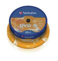 CID - Verbatim DVD-R 4,7GB 16x  25db/henger