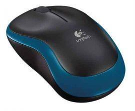 EL - Logitech M185 Wireless Mouse, kék-fekete