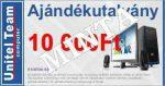 UNITEL - Ajándékutalvány 10.000 Ft
