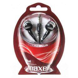 HKM - Maxell EB Plugz fülhallgató, fekete