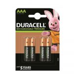 ELEM - Duracell Akku. Mikro 4db 900mAh Stay Charged
