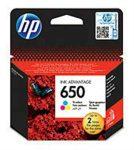 PPH - HP CZ102AE no.650 patron színes 200o