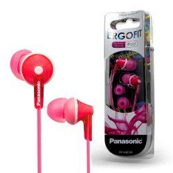 HKM - Fülhallgató, Panasonic RP-HJE125E-P, pink