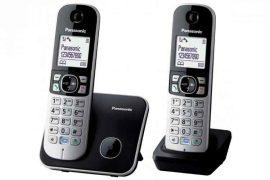 TELP - Panasonic KX-TG6812PDB DUO DECT telefon szett, kihangosítható