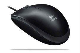 EL - Logitech B100 Mouse fekete, 800dpi