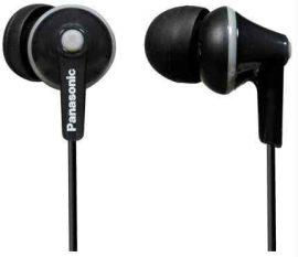 HKM - Panasonic fülhallgató, RP-HJE125E-K, fekete