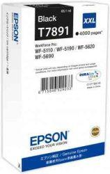 PPE - Epson T7891 fekete tinta 4k, 65ml, WF-5110,5190,5620,5690