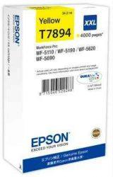 PPE - Epson T7894 sárga tinta 4k, 34ml, WF-5110,5190,5620,5690