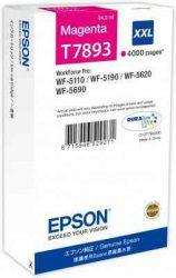 PPE - Epson T7893 bíbor tinta 4k, 34ml, WF-5110,5190,5620,5690