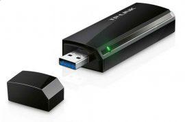 HAK - TP-Link TL-AC1300 Archer T4U Wireless USB adapter