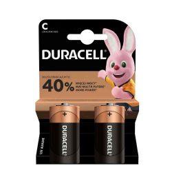 ELEM - Duracell Baby elem, LR14/MN1400/C, Plus Power, 2db/bliszter