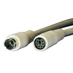 KÁBEL - PS/2 hosszabbító kábel 1.8m, Roline 11.01.5618-50