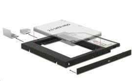 """KELLÉK - Átalakító 5.25 Slim SATA keret 1x2.5"""" SATA HDD-hez Delock 62669 9.5/7mm"""
