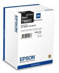 PPE - Epson T8651 fekete tinta 10k WF-M5190, WF-M5690