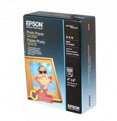 PAP - Fotópapír, 10x15, Epson, 500lap, 200g, fényes, C13S042549
