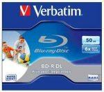 CIB - Verbatim Blu-Ray írható BD-R DL 50GB 6x nyomtatható