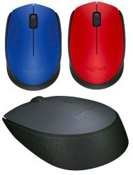 EL - Logitech M171 Wireless Mouse, piros