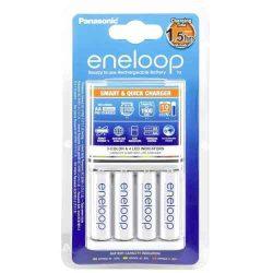 ELEM - Eneloop töltő+4x1900mAh AA akku smart és gyorstöltő