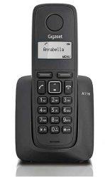 TEL - Gigaset A116 hordozható DECT telefon, fekete