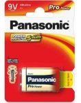 ELEM - Panasonic Alkaline Pro Power 9V elem 6LR61PPG-1BP