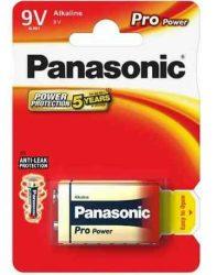 ELEM - Panasonic Pro Power 9V elem 6LR61PPG-1BP