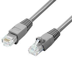 KÁBEL - UTP Cat.5e patch kábel, szerelt,  1m
