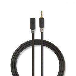 """KÁBEL - Audio kábel 3.5"""" jack hosszabbító  2m, Nedis CABW22050AT20"""