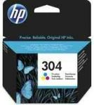PPH - HP N9K05AE no.304 színes patron, 2ml, kb.100oldal