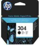 PPH - HP N9K06AE no.304 fekete patron, 4ml, kb.120oldal