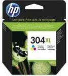 PPH - HP N9K07AE no.304XL színes patron, 7ml, kb.300oldal