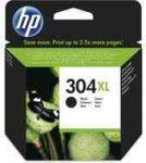 PPH - HP N9K08AE no.304XL fekete patron, 8.5ml, kb.300oldal