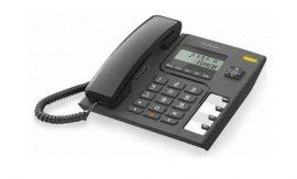 TELA - Alcatel Temporis 56, kijelzős, kihangosítható asztali telefon, fekete