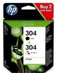 PPH - HP 3JB05AE no.304 fekete+színes patron multipack