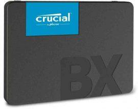 SSD - 240 Gb SSD, Crucial BX500 SATA3 SSD (540/500)