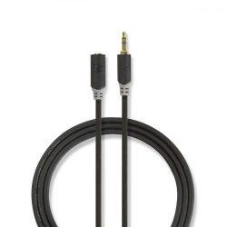 """KÁBEL - Audio kábel 3.5"""" jack hosszabbító  1m, Nedis CABW22050AT10"""