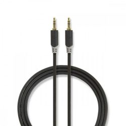 "KÁBEL - Audio kábel 3.5"" jack-jack  2.0m, Nedis CABW22000AT20"