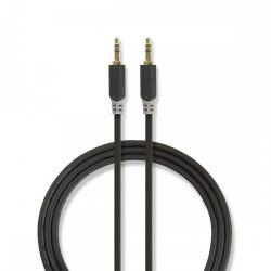"KÁBEL - Audio kábel 3.5"" jack-jack  0.5m, Nedis CABW22000AT05"