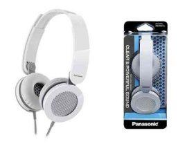 HKM - Panasonic fejhallgató, RP-HXS200E-W, fehér