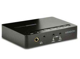 HK - Hangkártya, USB 2.0, Axagon Ada-71 USB 7.1 Audio