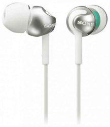 HKM - Sony MDR-EX110AP mikrofonos fülhallgató, fehér