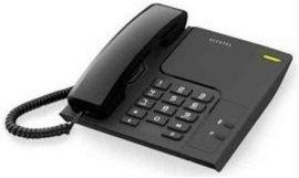 TELA - Alcatel Temporis 26, asztali telefon, fekete