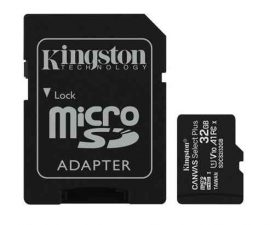 MK - MicroSD kártya  32Gb Kingston CL10 Canvas Select Plus 100R + adapter (100)