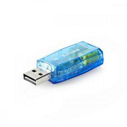 HK - Hangkártya, USB 2.0, Nedis USCR10051BU